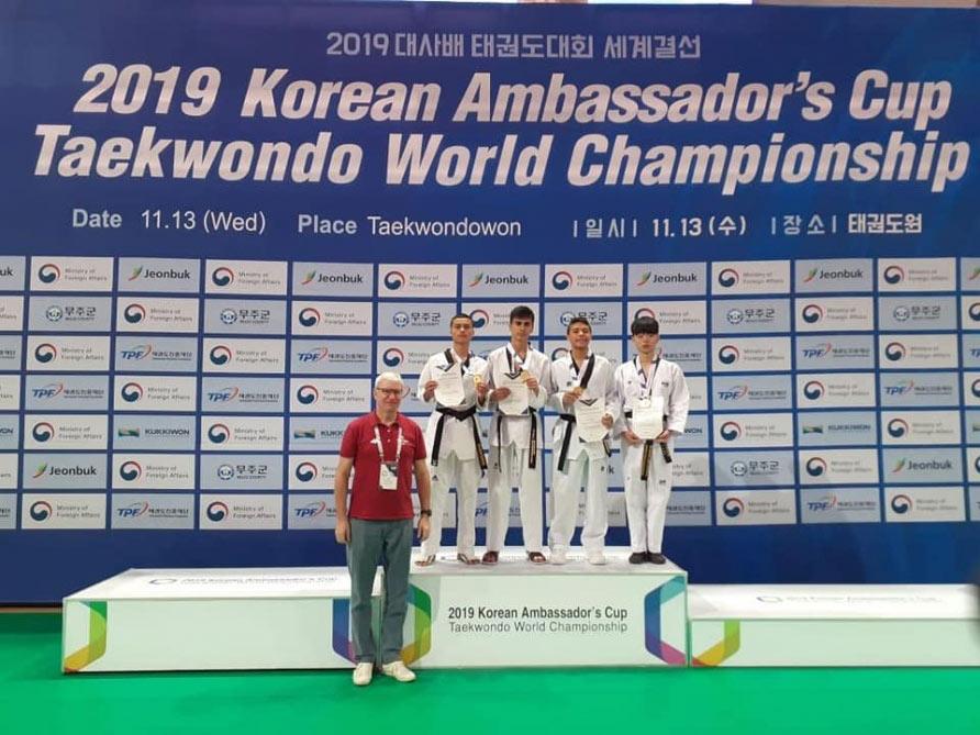 Taekvondoçularımızdan üç medal