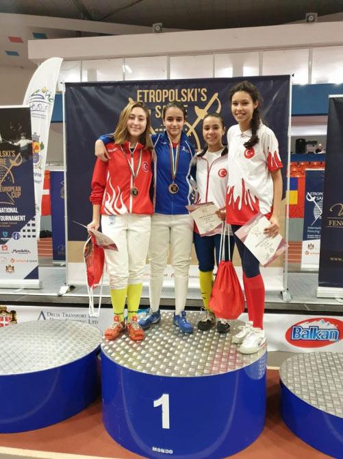 """""""European Cadet Circuit"""" yarışında uğurlu nəticə"""