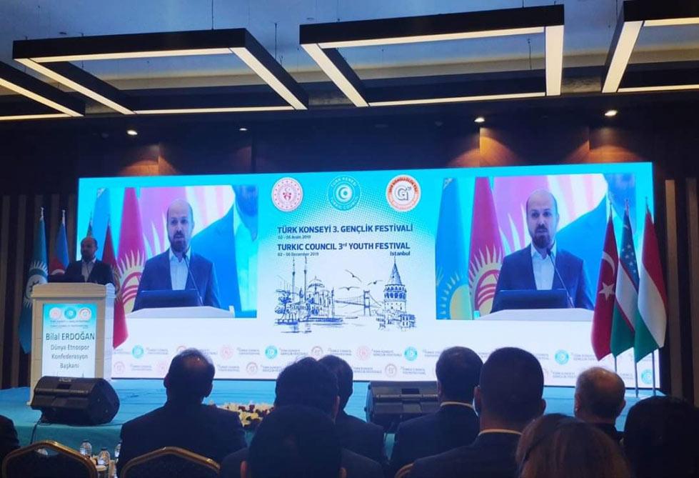 İstanbulda Türk Şurasının üçüncü Gənclər Festivalının rəsmi açılış mərasimi keçirilib