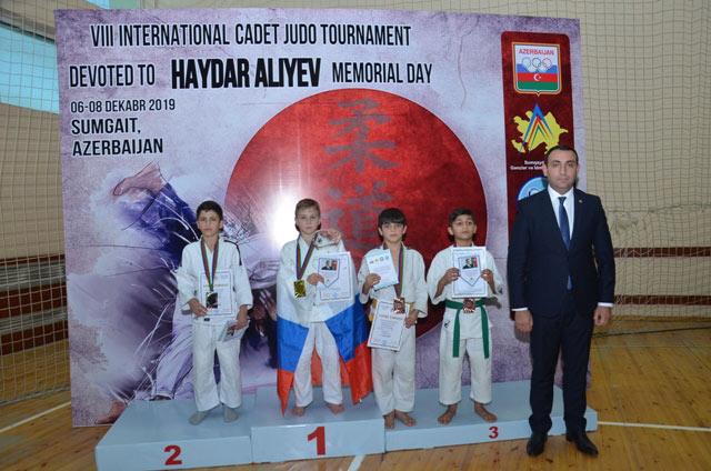 Sumqayıt idmançıları VIII ənənəvi beynəlxalq turnirin qalibi oldular