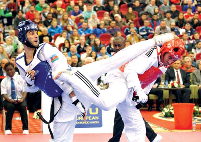 Taekvondoçularımız Moskva Qran-Prisində 2 medal qazanıblar