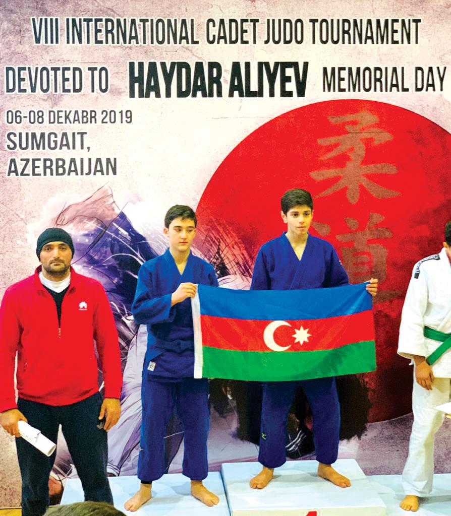 """""""Judo Club 2012""""nin yetirmələri beynəlxalq turnirdə fərqləndilər"""