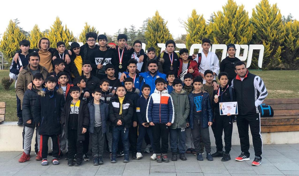 """""""Judo Club 2012""""nin yeniyetmə cüdoçuları beynəlxalq turnirdə 11 medal qazanıblar"""