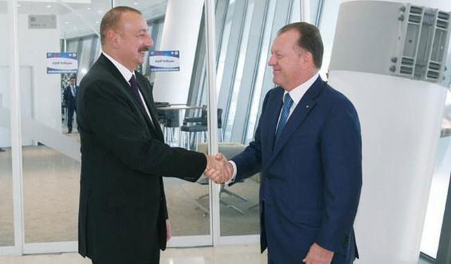 Beynəlxalq Cüdo Federasiyasının prezidenti Azərbaycan Prezidentini təbrik edib