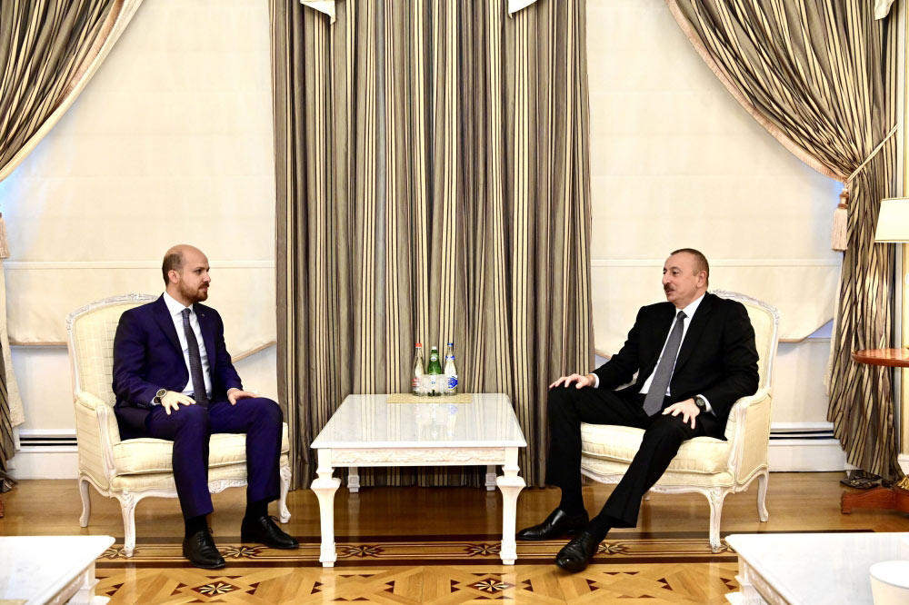 Prezident İlham Əliyev Dünya Etnoidman Konfederasiyasının sədrini qəbul edib