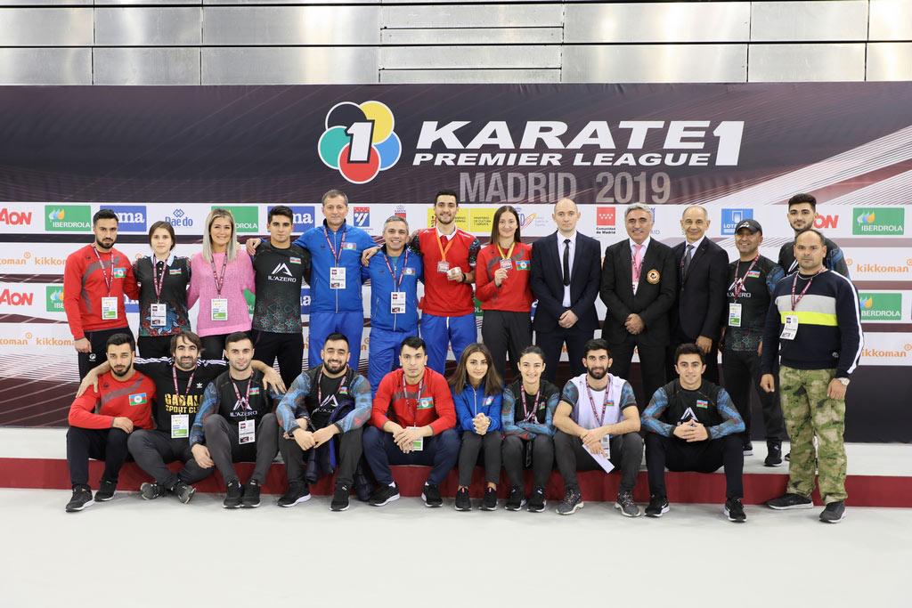 Karateçilərimiz bu ili 76 qızıl, 109 gümüş və 97 bürünc medalla başa vurur