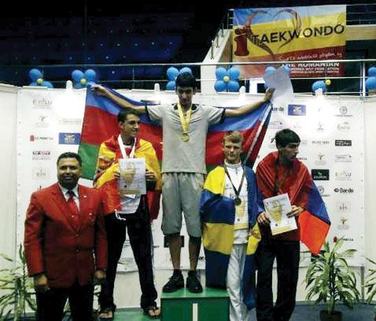 Avropa birinciliyində 2 qızıl, 1 gümüş və 2 bürünc medal