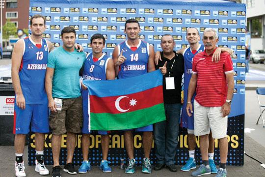 Basketbolçularımız qitə birinciliyinə vəsiqə qazanıblar