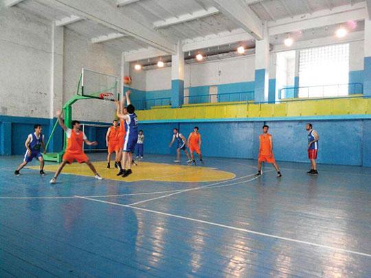 Tələbələr arasında keçirilən basketbol yarışlarına yekun vurulub