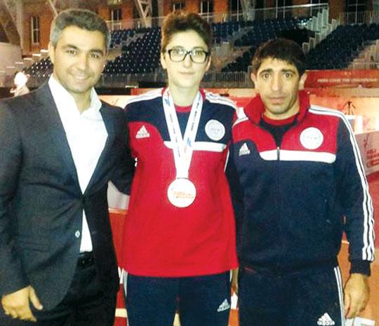 London-2012-nin iştirakçısı Mançesterdə medal qazandı
